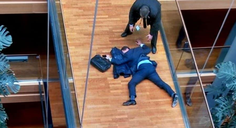 bagarre au parlement européen